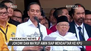 Jokowi Kembali Ungkap Alasan Memilih Ma'ruf Amin