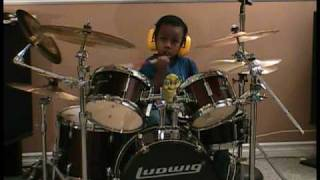 System of a Down - Chop Suey, Cover, 4 Year Old Drummer, Jonah Rocks
