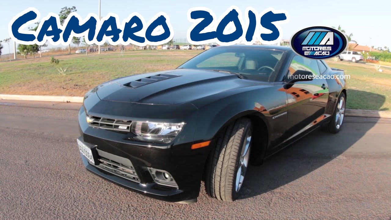 test drive chevrolet camaro ss 2015 | review | motoreseacao - youtube