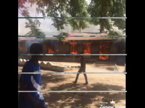 Mangochi hospital on fire
