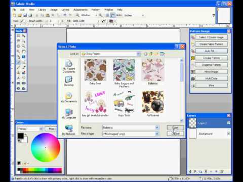 Fabric Design Repeats Made Easy with the Fabric Studio Software ...