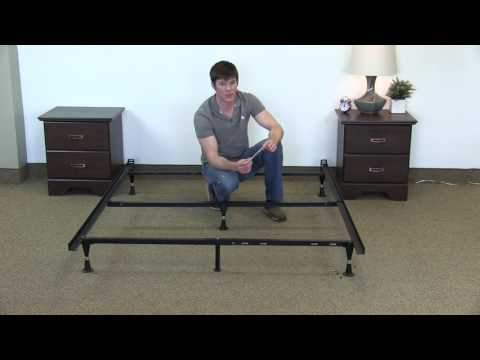 What is a standard queen size bed frame