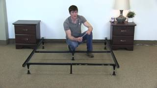 How to Assemble a Queen Bed Frame (steel Malouf Frame)