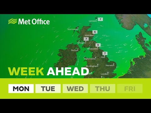 Week ahead – easterly winds return but with very different weather