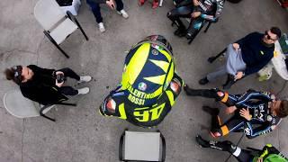 Unisex Valentino Rossi Colecci/ón VR46 Classic Bandera Talla /Única Multicolore