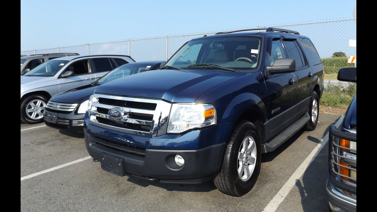 Ford Expedition XLT Start Up And Tour YouTube - 2007 ford