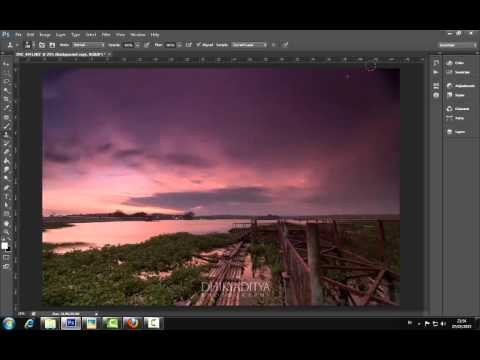 Tutorial Simple Editing Landscape