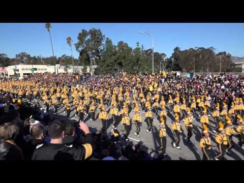 University of Iowa Hawkeye Marching Band - 2016 Pasadena Rose Parade