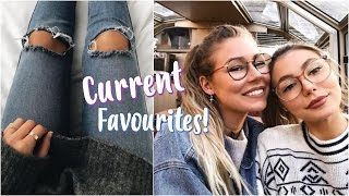 Current Favourites! // Beauty + Fashion