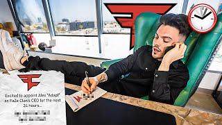 I Became FaZe Clan CEO for 24 Hours