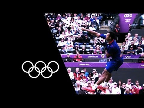 The Longest Olympic Tennis Match - Tsonga v Raonic   Olympic Records