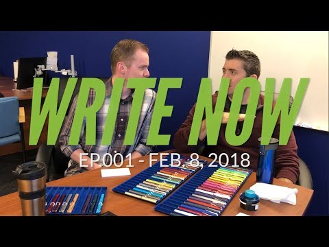 Write Now - Ep.001: LAMY Special Edition Bonanza, Norwegian Curling Pants, and Contigo Mugs