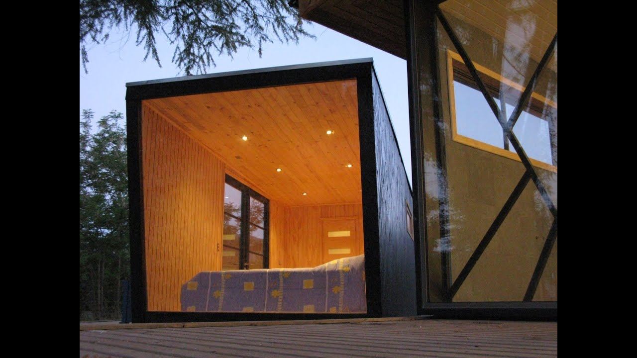 A Tiny Prefab Dwelling Produced By Fabrihome In Chile Used