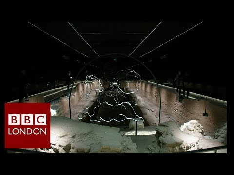 Under the City of London a Roman Temple - BBC London News