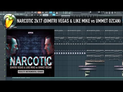 Narcotic 2k17 (Dimitri Vegas, Like Mike & Ummet Ozcan vs Liquido Tomorrowland 2017) FLP REVIEW