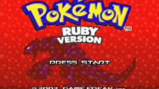 pokemon ruby theme song