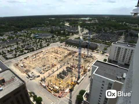 Virginia Beach Town Center Main Street Office Tower construction