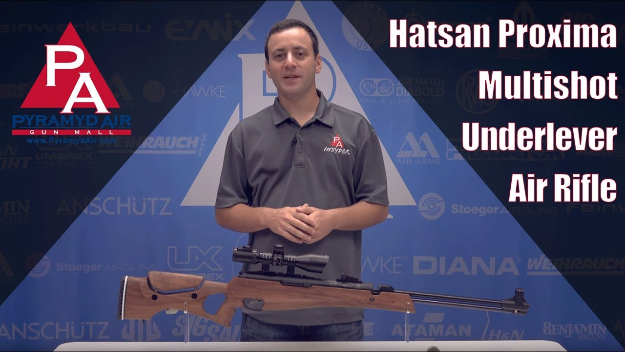 Hatsan Proxima Multishot Underlever Air Rifle