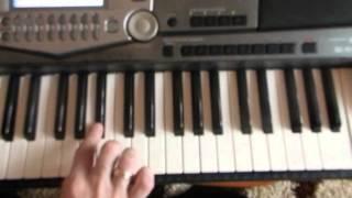 Видеоурок насинтезаторе музыка из к/ф Крестный отец