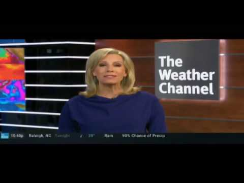 December 10, 2019 - Weather Channel - International Falls - Icebox Of The Nation