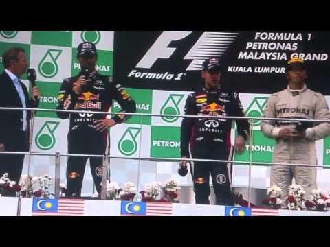 Mark Webber Rages as Sebastian Vettel  Ignores Team Orders