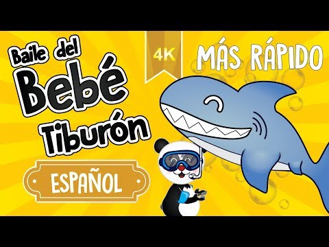 baby-shark-dance-(in-spanish)---faster-|-let's-dance-with-fofopanda-and-the-shark-family-|-4k