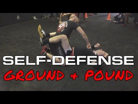 Self-Defense: Ground & Pound Technique: TRITAC-Unarmed