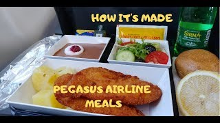 How it's made! Pegasus Airlines Meals