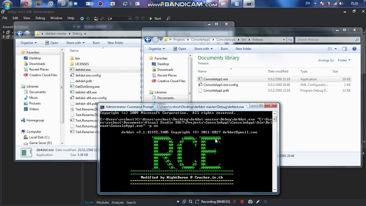 (Trick)Eazfuscator  NET v5 8 String Encryption by NightBaron RCE