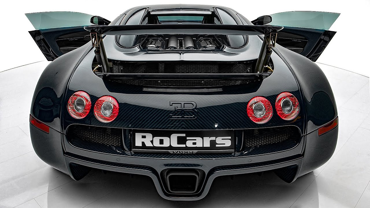 Bugatti Veyron Sapphire Edition – Stunning Project from MANSORY!