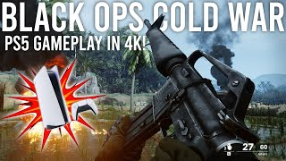 Black Ops Cold War is here! PlayStation 5 Multiplayer Gameplay