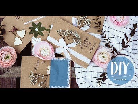 DIY Mit Fleurop: Einladungskarten Zur Hochzeit
