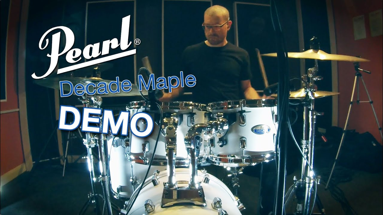 pearl decade maple drums youtube. Black Bedroom Furniture Sets. Home Design Ideas