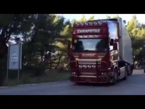 MIKROULIS-ZARAFETAS POWER TEAM SCANIA R620 sound tripolis