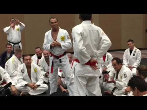 Rickson Gracie  Red Belt tion