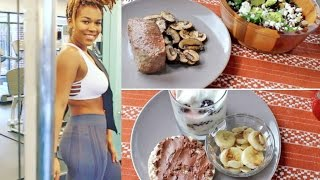 WHAT I EAT IN A DAY | Healthy Meals + WORKOUT ROUTINE Fall Fitness