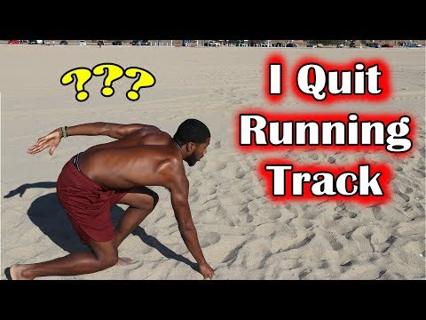 I Quit Running Track and Field? 🏃♂️