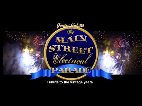 Jiminy Salutes the Main Street Electrical Parade