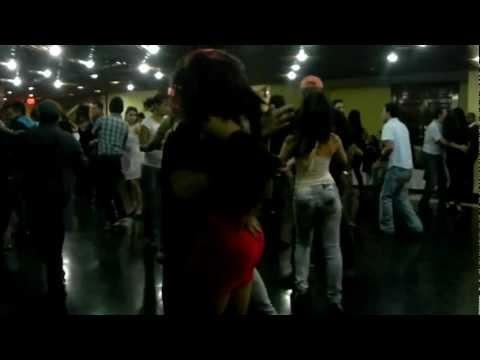 Muriel Lowis costa Rica y Brian Giron Guatemala .. Social guatemala salsa fest 2012