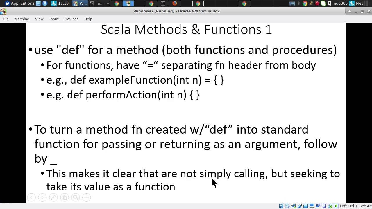 Introduction to Scala Functions and closures, and map, reduce, filter