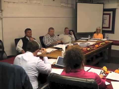 Ticonderoga Town Board Meeting  10-9-14