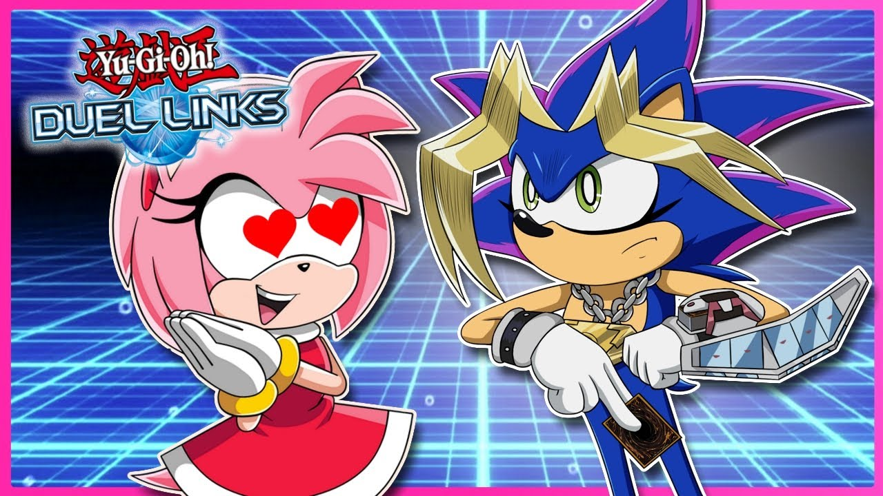 SONIC DATES AMY?! Sonic VS Amy Yu-Gi-Oh! Duel Link