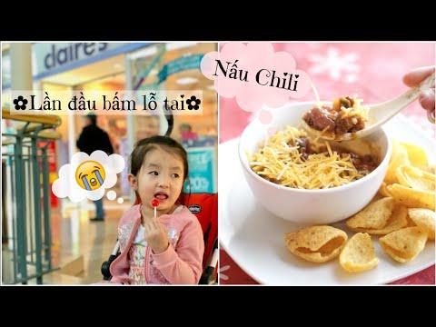 Cuối tuần nấu Chili (Ớt hầm kiểu Mỹ) ❀ Bấm lỗ tai cho DONUT ❀ Unboxing TOKYOTREAT | mattalehang