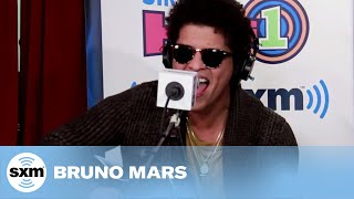 "Bruno Mars ""Locked Out Of Heaven"" Live @ SiriusXM // Hits 1"