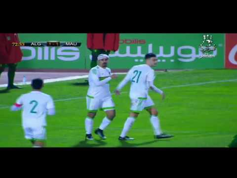 Match Goals Algeria 3 - 1 Mauritania #Friendly