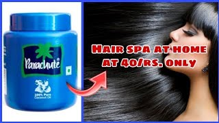 Hair spa at home ll At 40/rs. only ll Try now ll