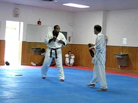 Master Honeycutt 5th dan test