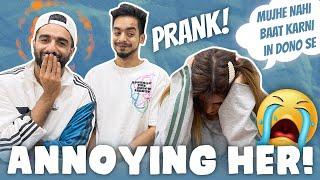 Annoying her prank   Jaa rahi hu mai 😂