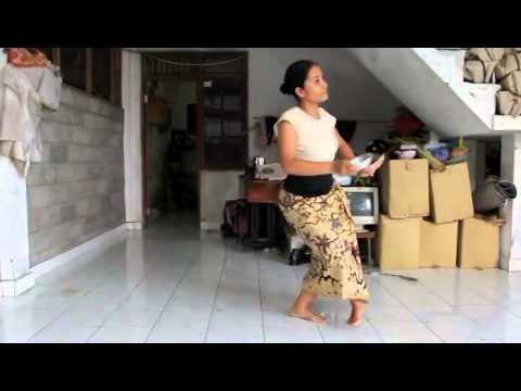 Balinese dance tutorial2 : Sekar Jagat by Komang Ayu~バリ舞踏レッスン2