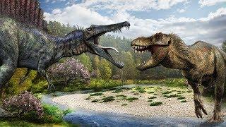 Tyrannosaurus Rex vs Spinosaurus ¿Quien Gana?